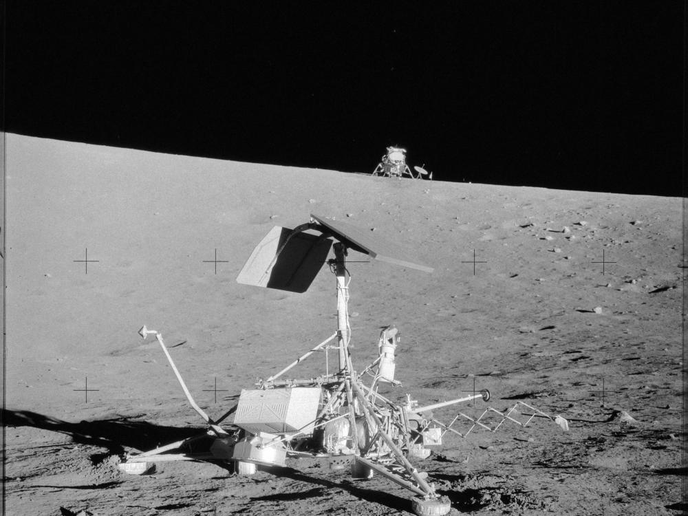 Surveyor III Precision Landing