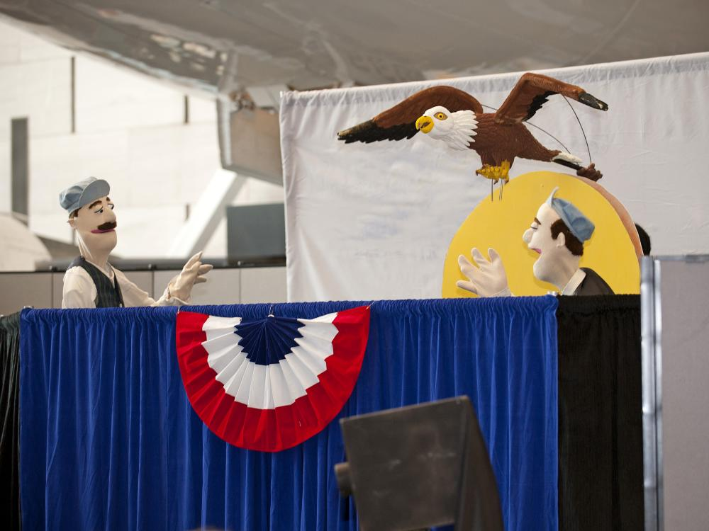 The Wright Brothers: A Musical Play Puppet Show
