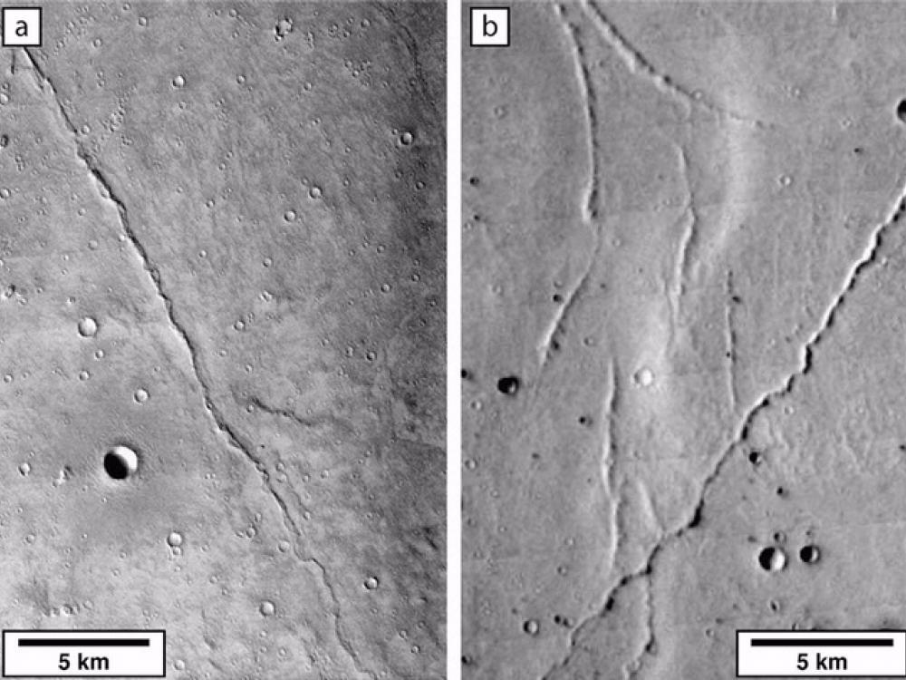 Image of Martian Shorelines