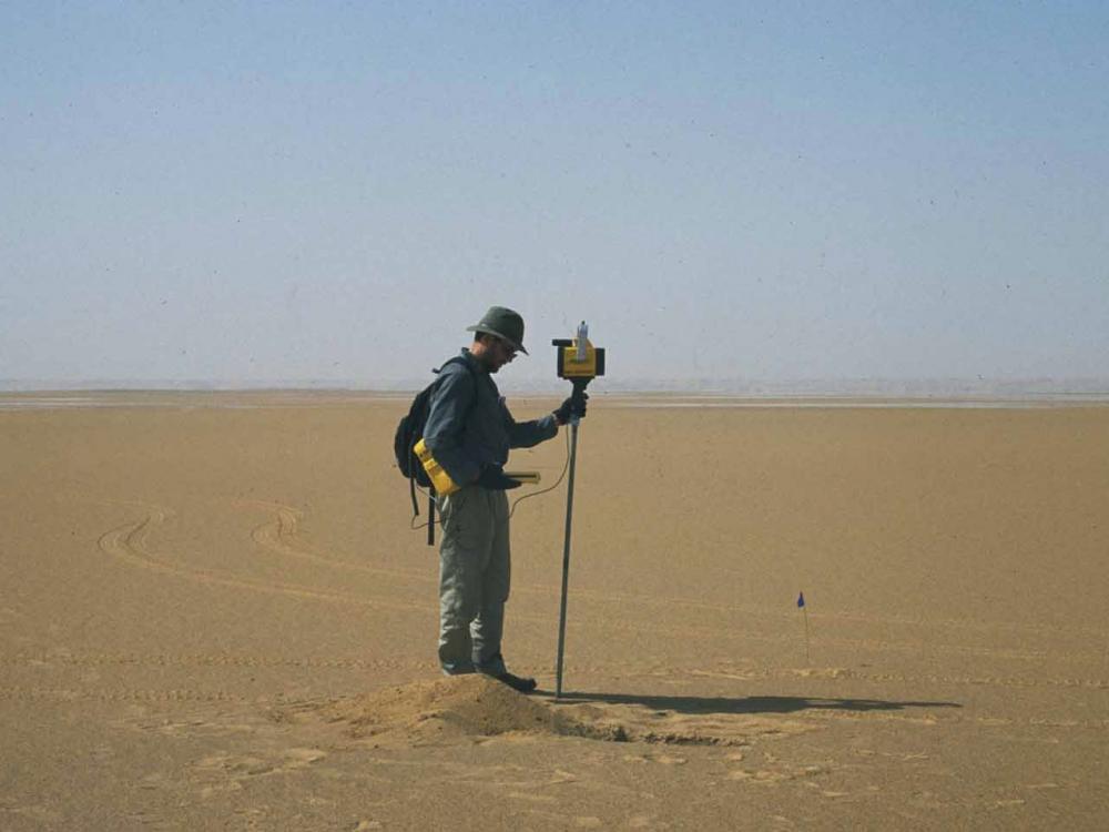 Image of Geographer Andrew Johnston
