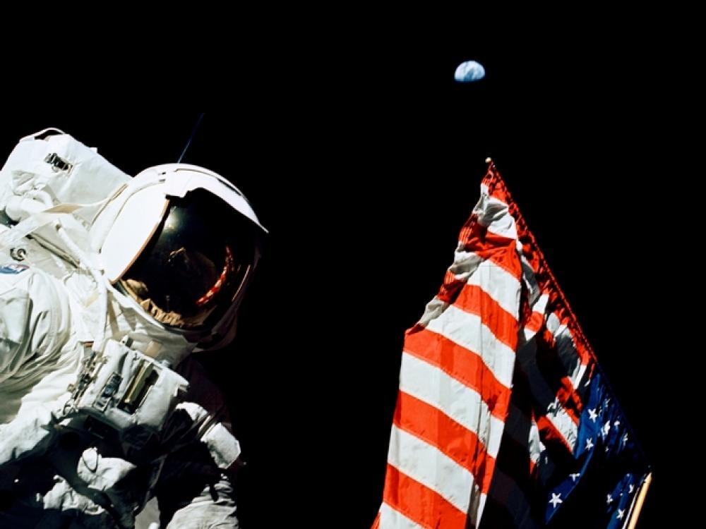 Apollo 17: Flag on the Moon