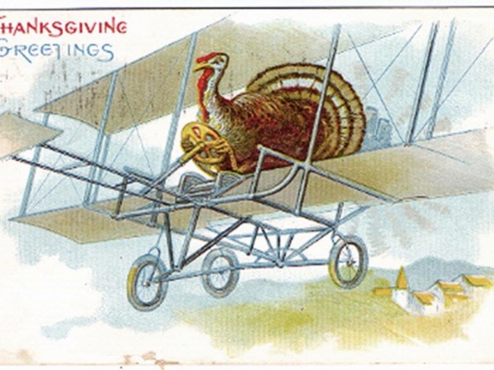 Turkey Aviator Postcard
