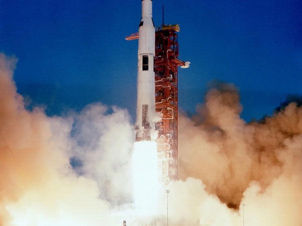 Apollo 8 Liftoff