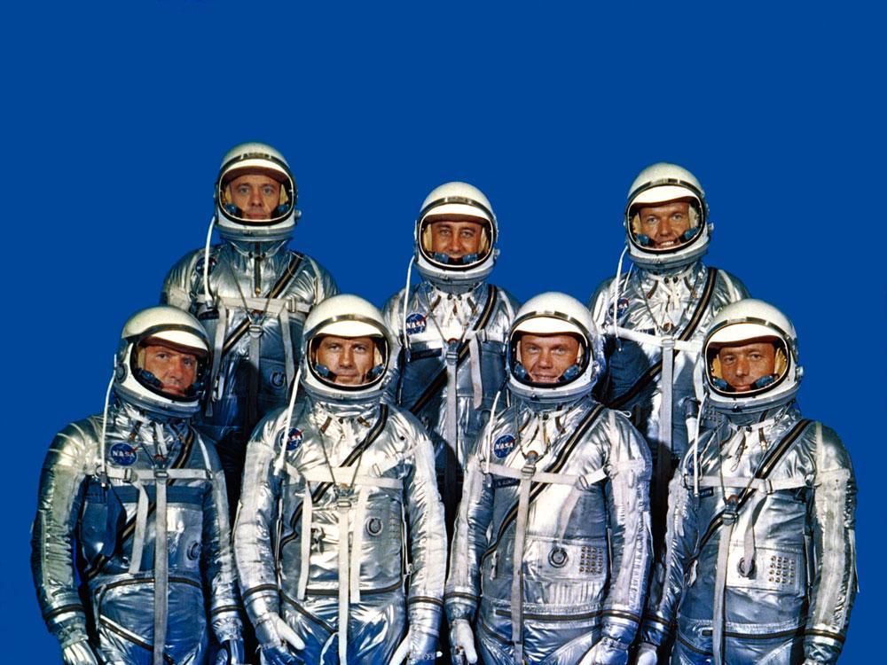 The First American Astronauts - Mercury 7