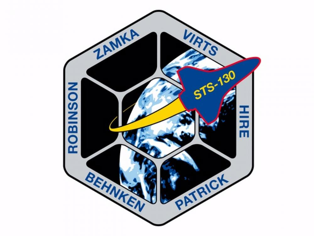 The STS-130 Patch