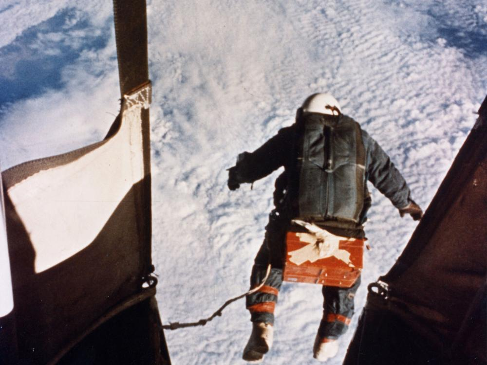 Photograph of Kittinger Jump taken from gondola