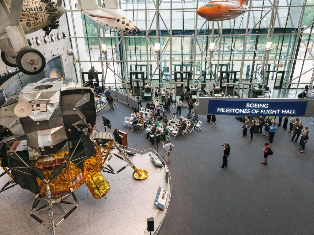 Lunar Module on Display