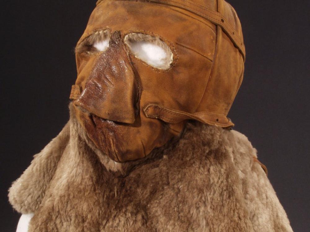 Lt. Apollo Soucek Helmet