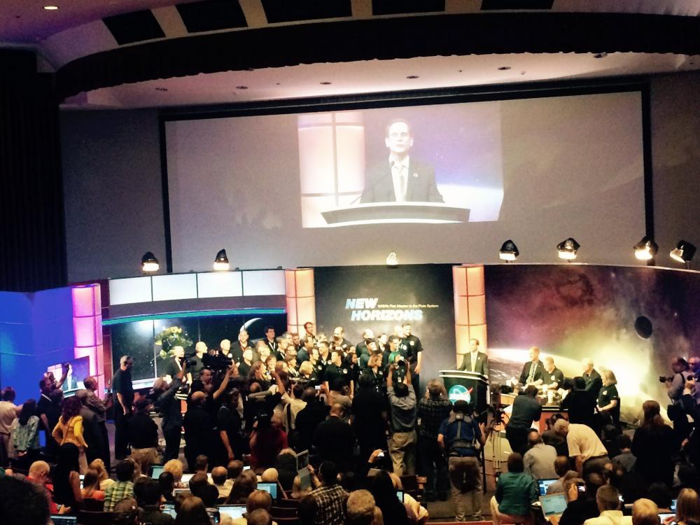 New Horizons Flyby Celebration