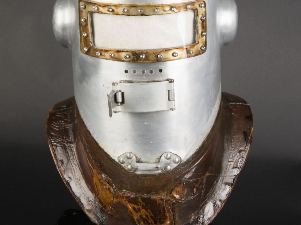 Post Helmet After Conservation