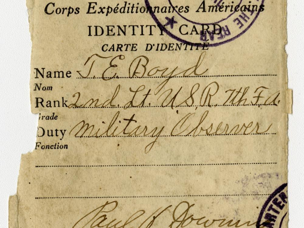 Military ID Card
