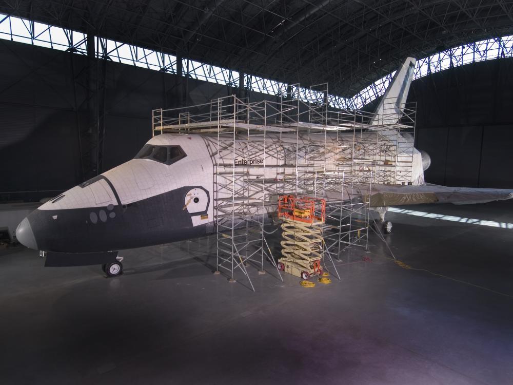 space shuttle enterprise cockpit - photo #24