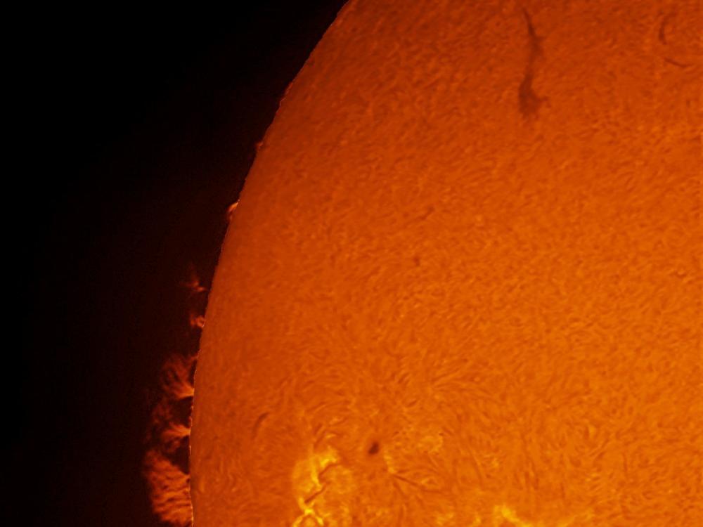 Sun close-up - Dec 30, 2011