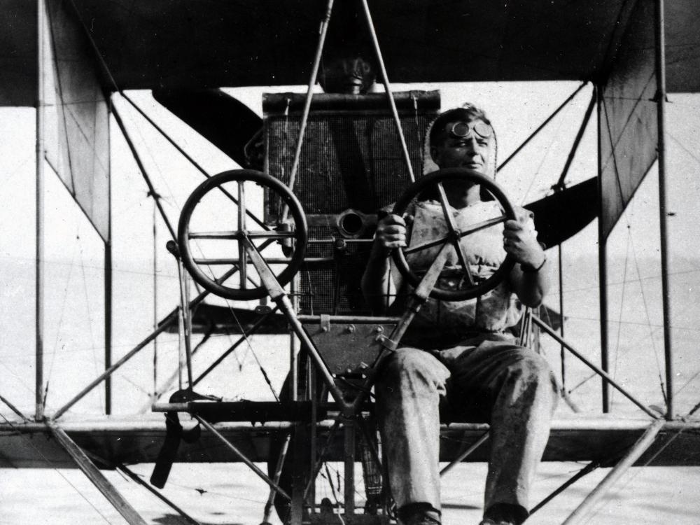 First Marine Aviator - Lt. Alfred A. Cunningham