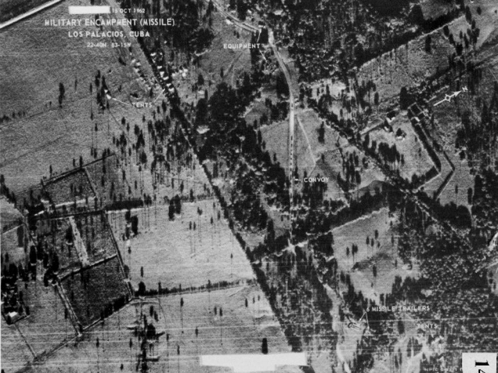 U-2 Photo of Missile Launch Sites in Cuba
