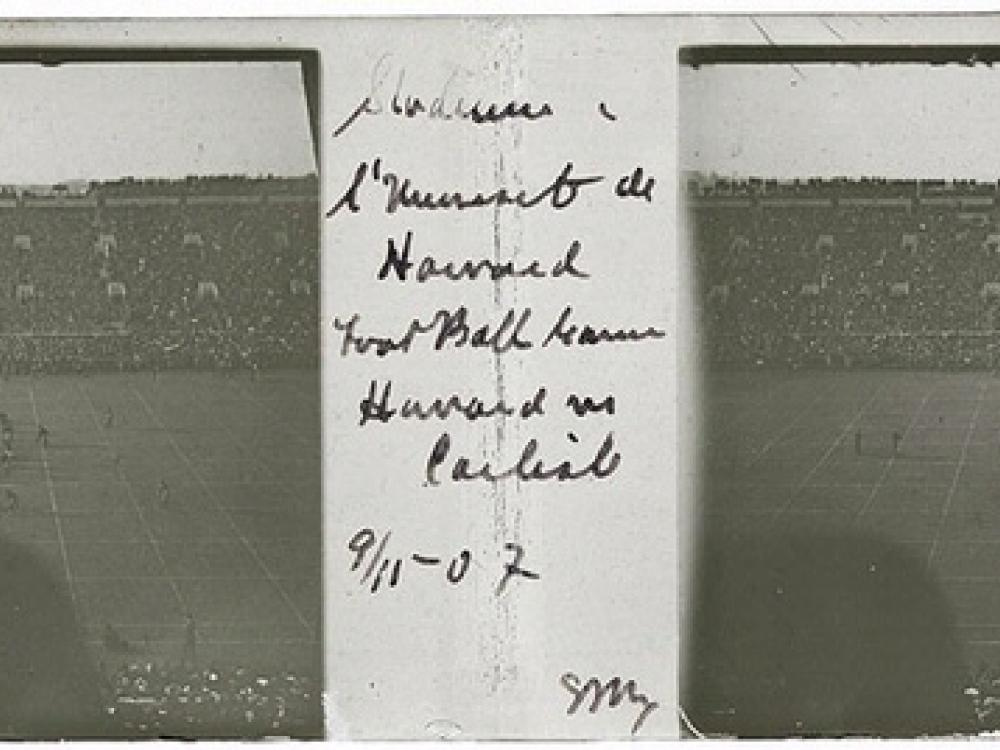 Carlisle Indian School vs. Harvard University Football Game