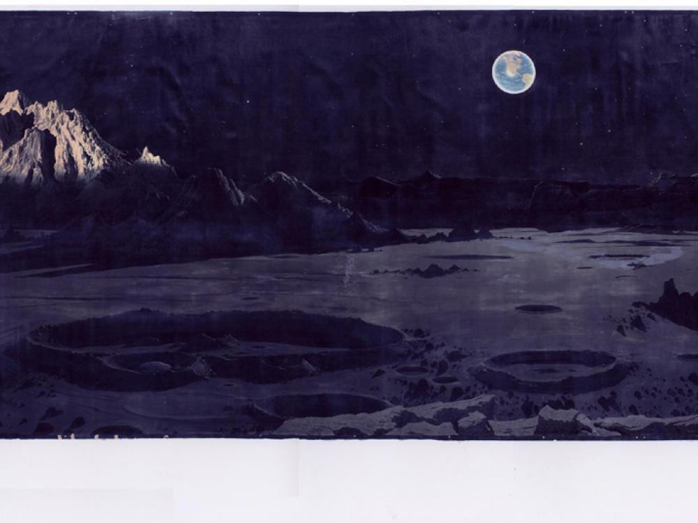 Lunar Mural