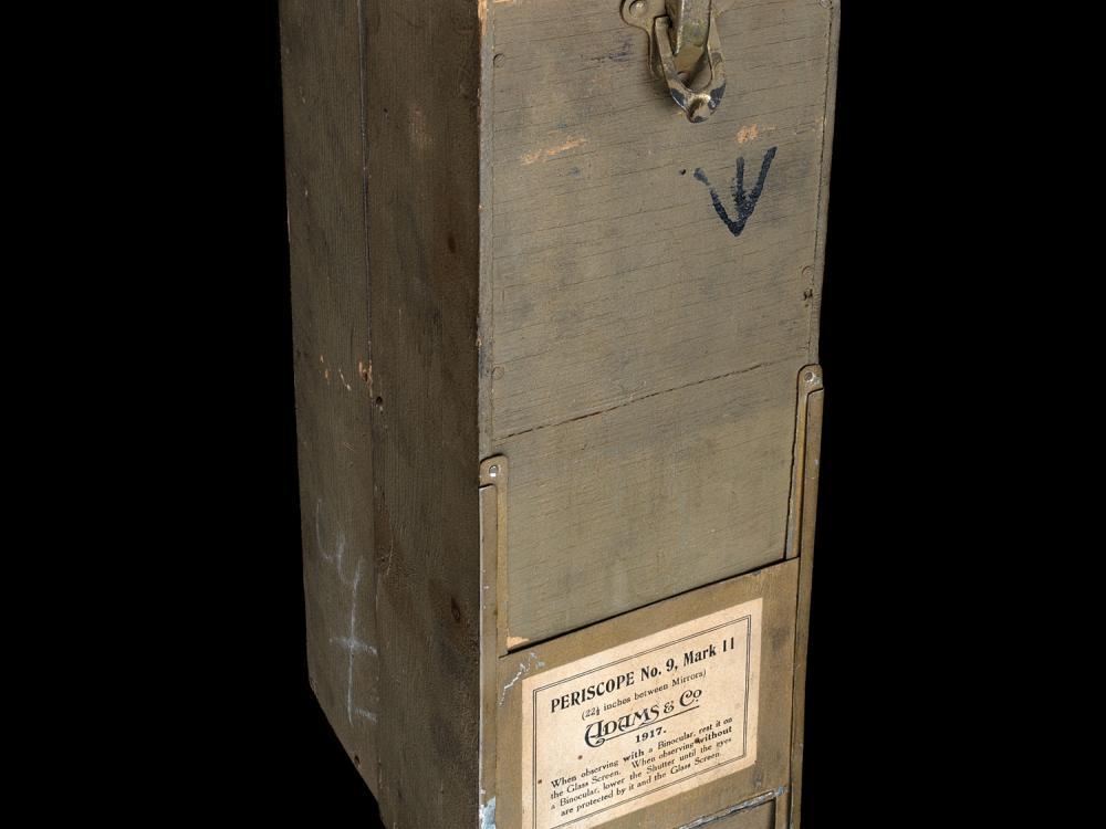 Metal box.