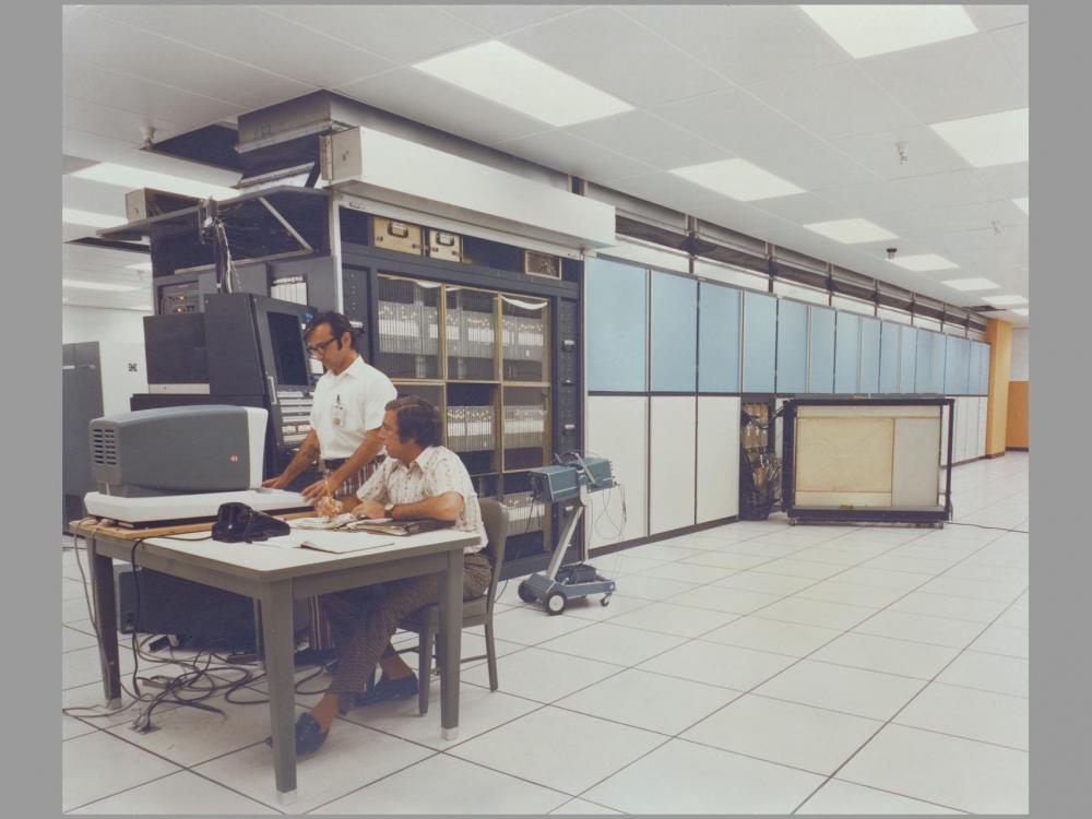 """The """"ILLIAC IV"""" computer system at NASA Ames Research Center"""