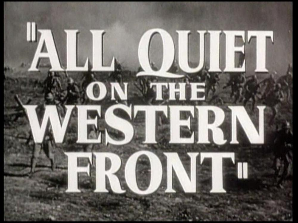 """A film still of the opening of """"All Quiet on the Western Front"""""""