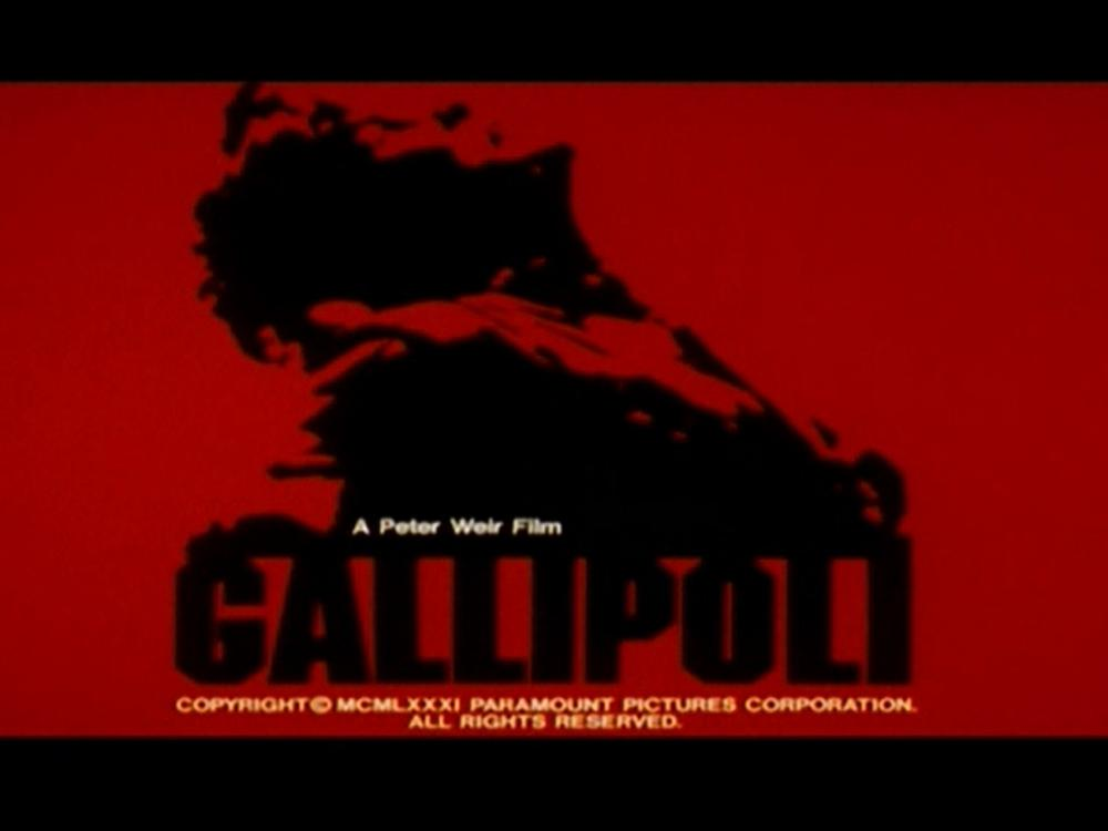 The movie poster for Gallipoli