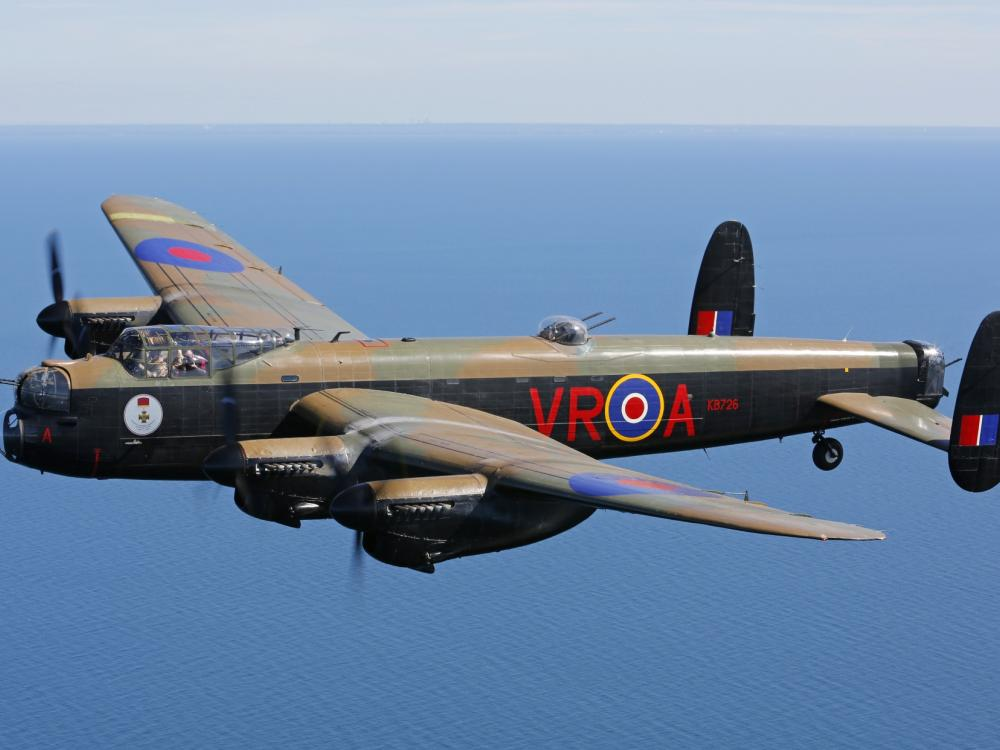 The Canadian Warplane Heritage Museum's Avro Lancaster, one of only two airworthy Lancasters in the world.