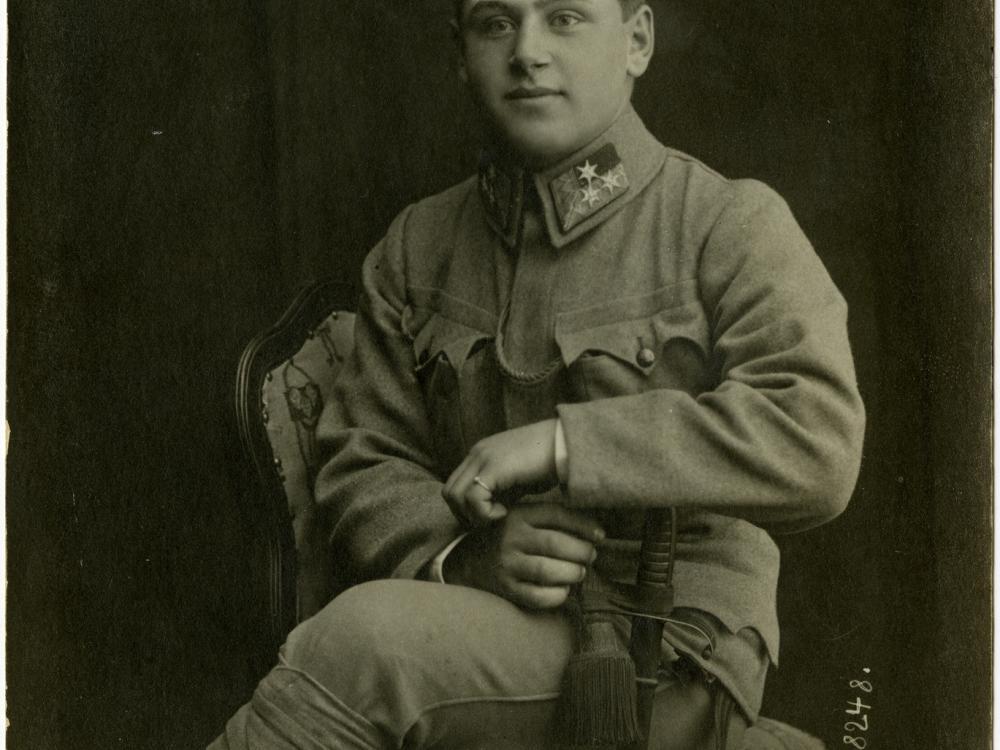 Dezsö Becker, 1916