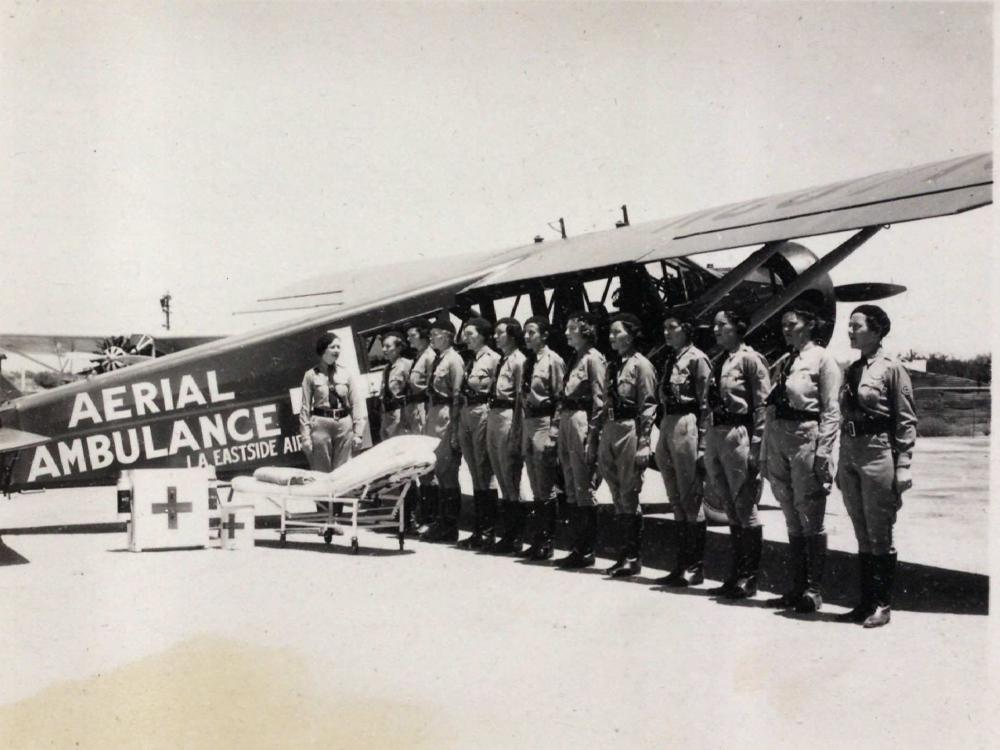 Women's Air Reserve Aerial Ambulance