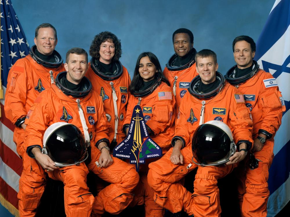 """STS-107 Crew of Space Shuttle """"Columbia"""""""