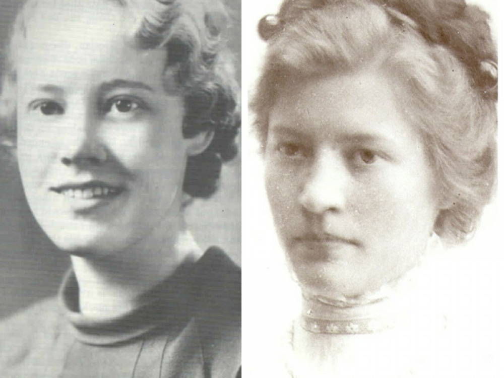 Pioneering women cryptologists Genevieve Grotjan (left) and Agnes Driscoll (right).