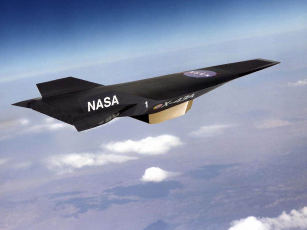 NASA X-43A Scramjet