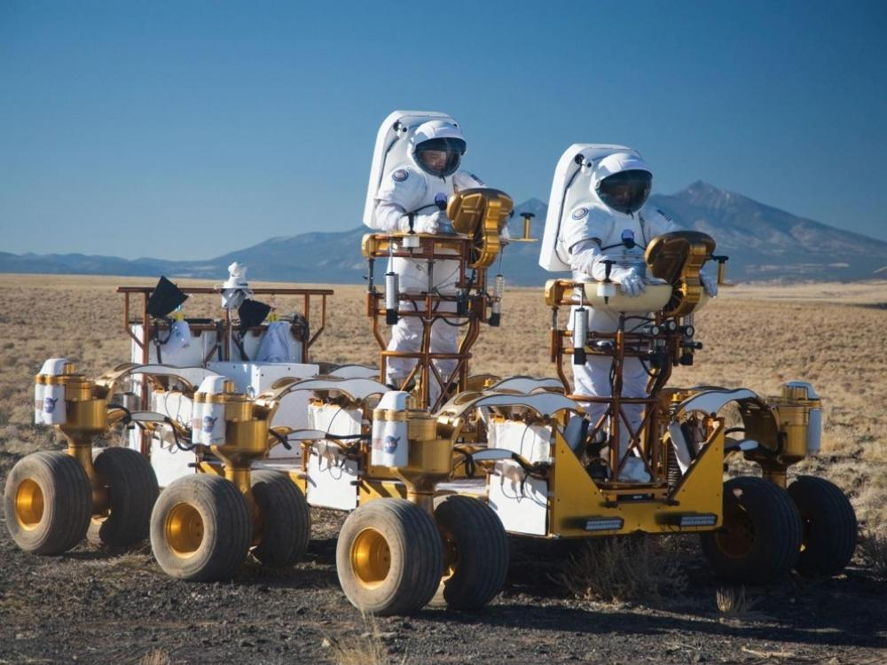 Lunar Electric Rover (LER) Unpressurized Rover (UPR) Configuration