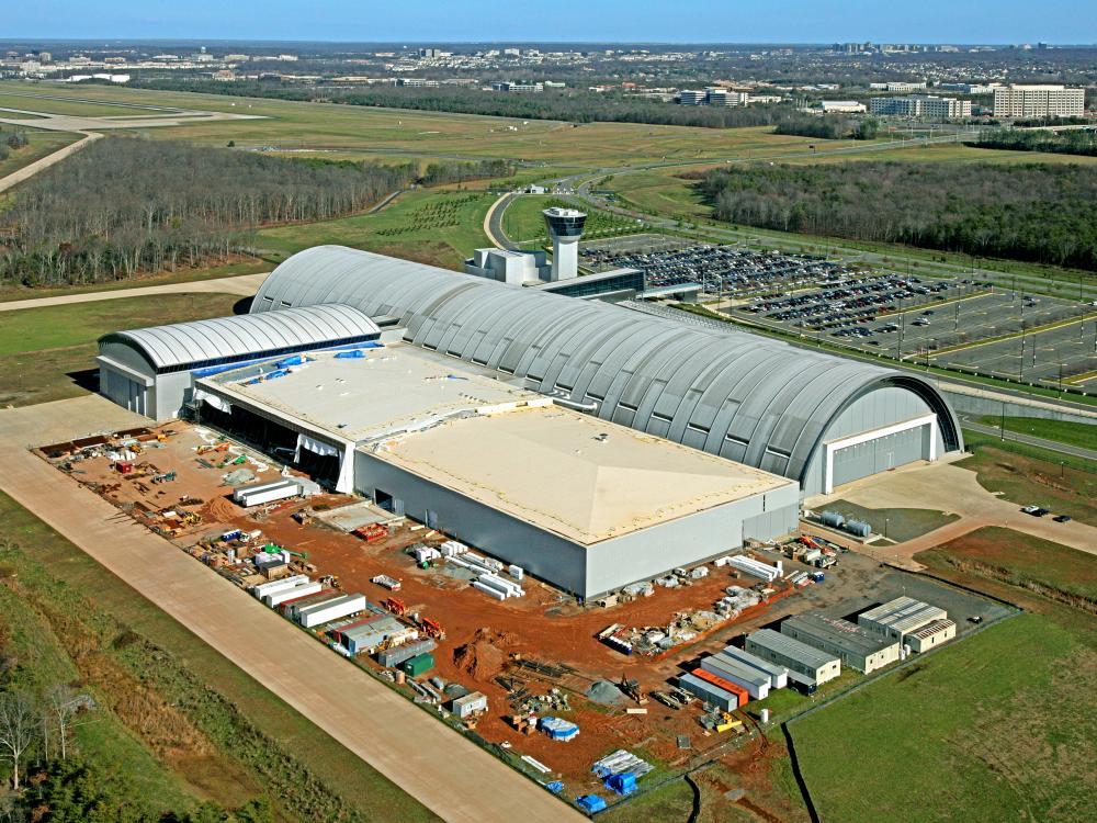 Steven F. Udvar-Hazy Center New Wing Construction