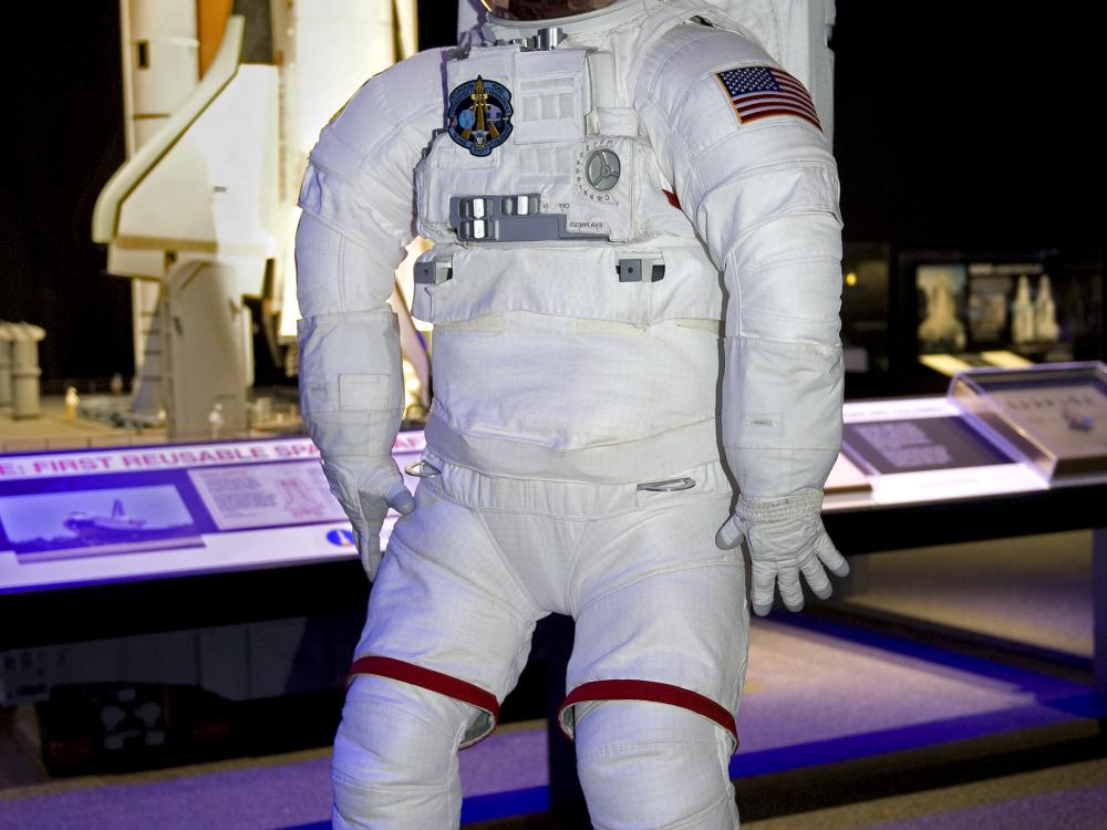 Mock Space Shuttle Suit