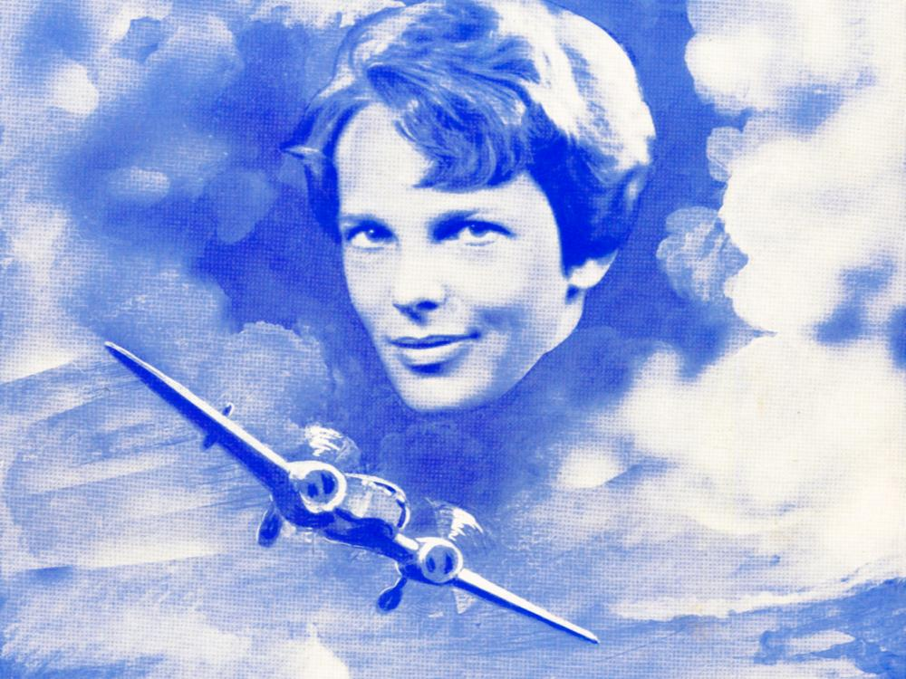 Picture of Amelia Earhart's Last Flight Sheet Music Cover
