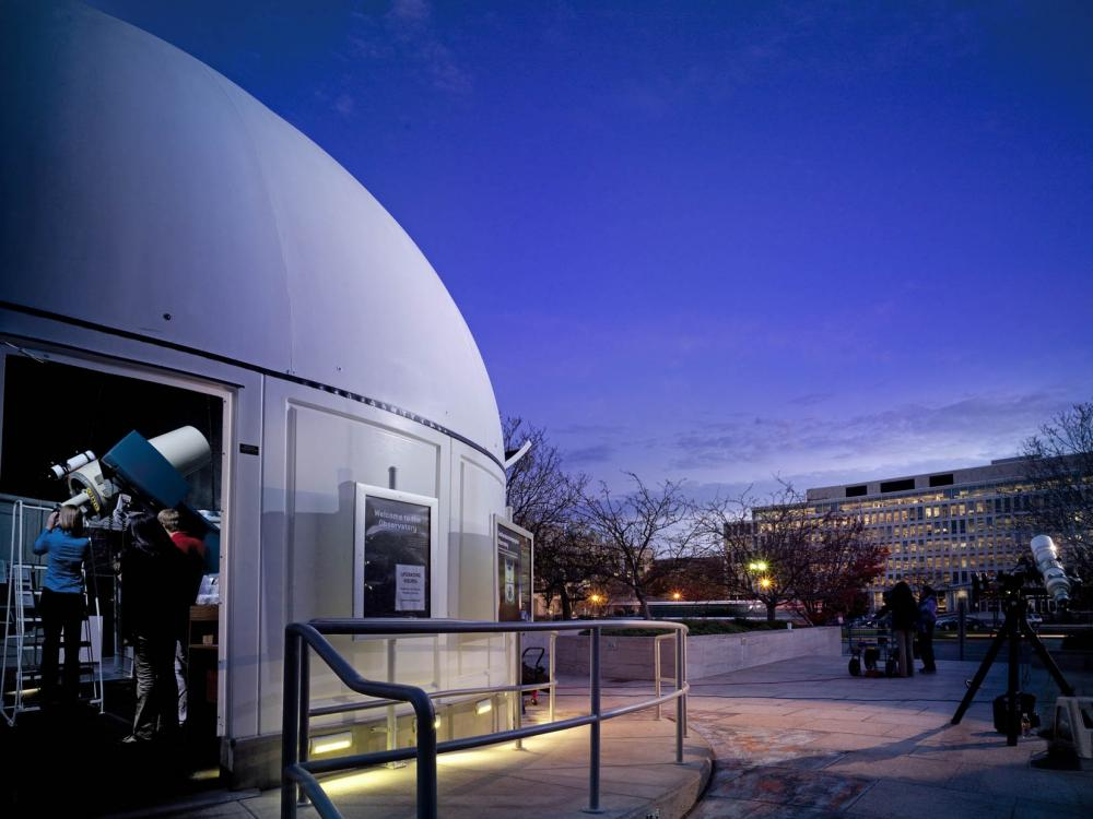 Stargazing at the Public Observatory | National Air and