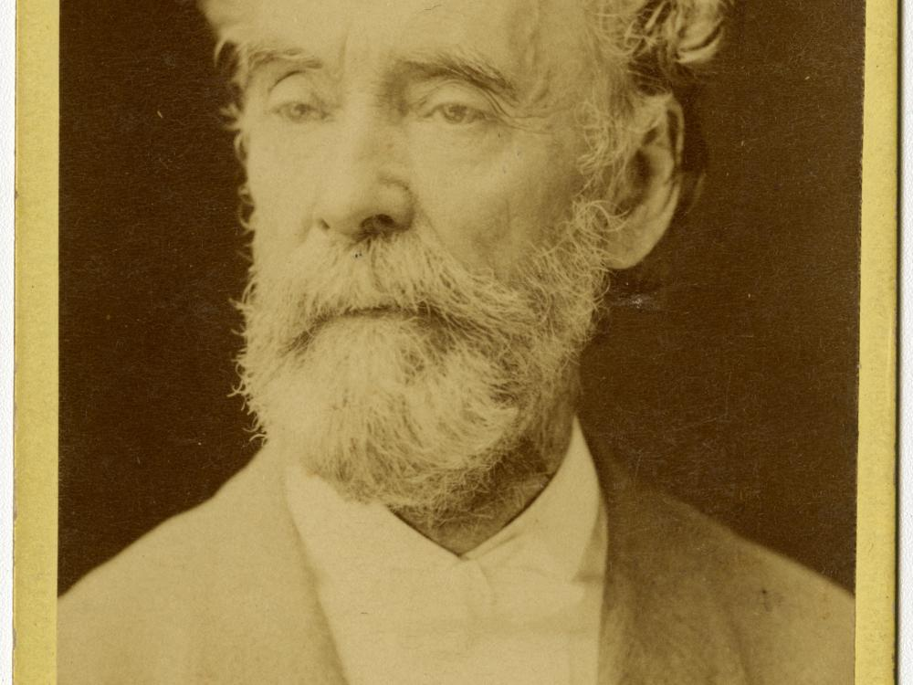 Historic portrait of  Professor John Wise