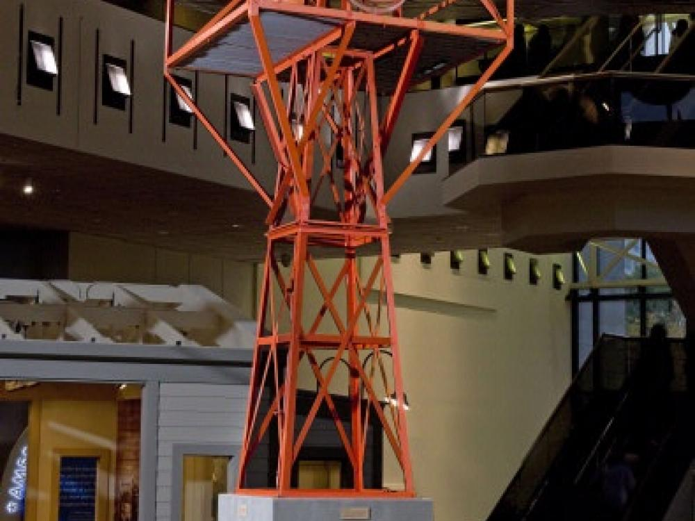 Air Route Beacon in America by Air exhibtion