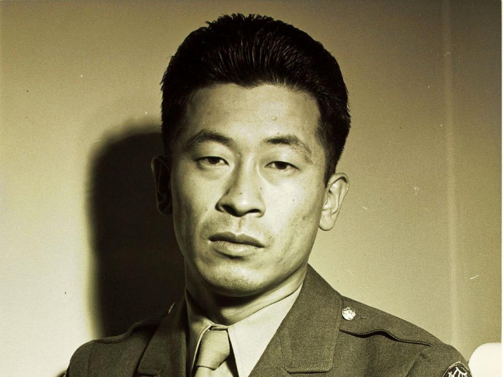 Ben Kuroki in uniform