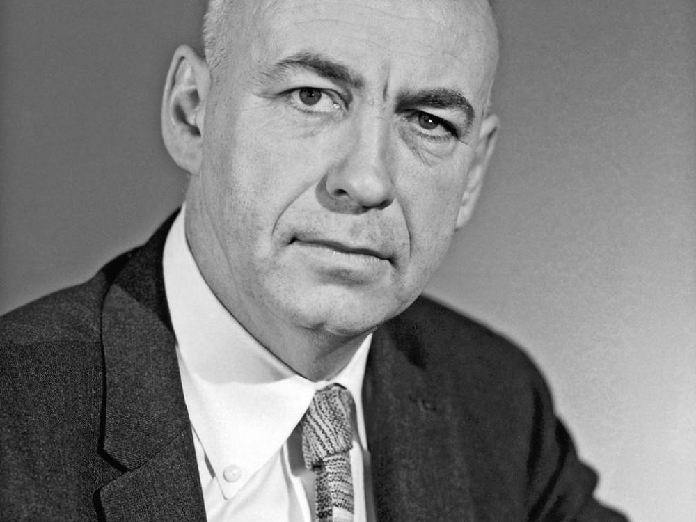 formal portrait of a man