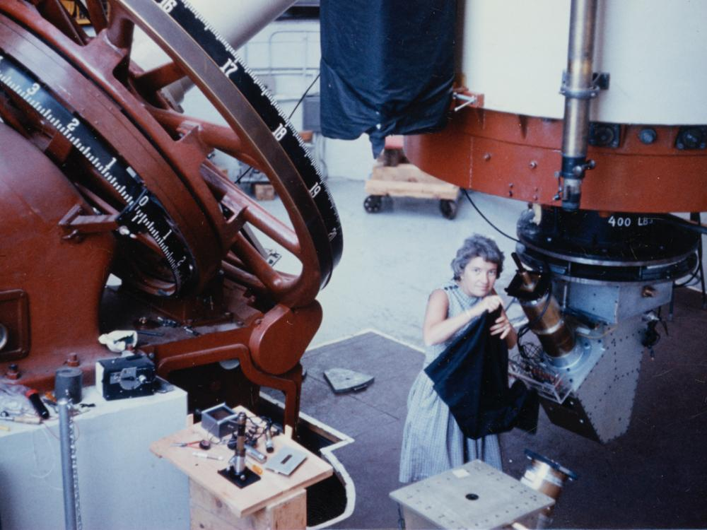Vera Rubin at the Flagstaff Telescope