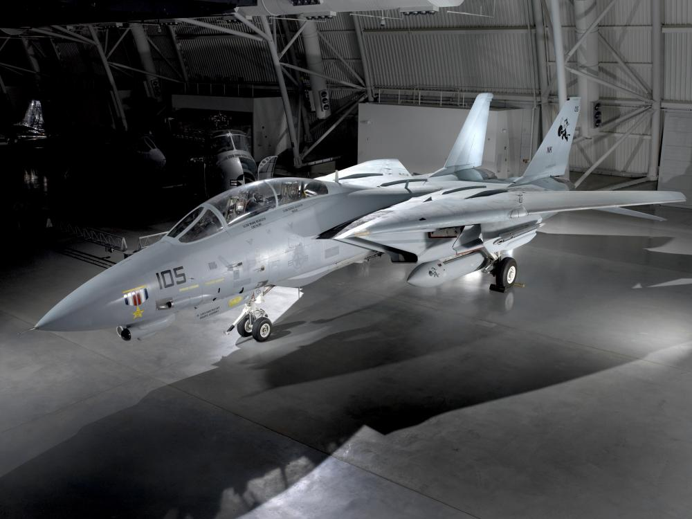 Grumman F-14 Tomcat at the Udvar-Hazy Center