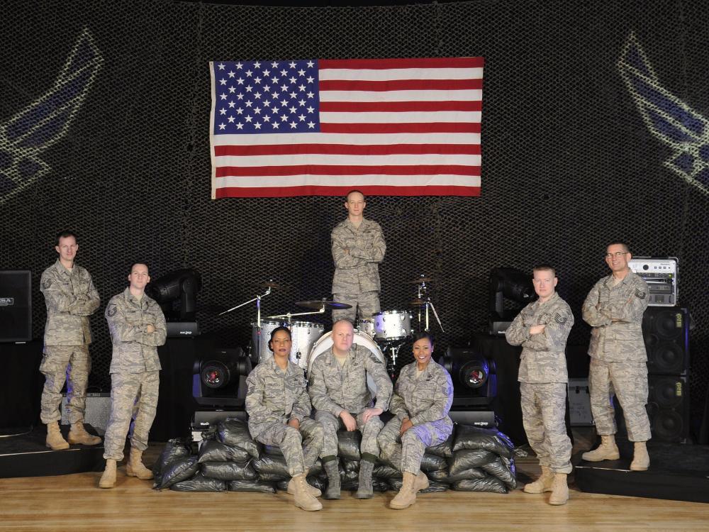US Air Force Band Max Impact