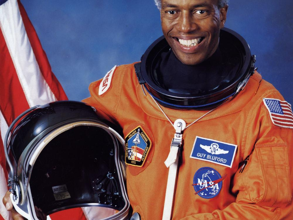 Guion Bluford In Space