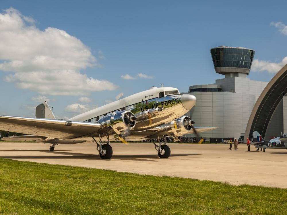 "Douglas C-47 Skytrain ""Miss Virginia"""