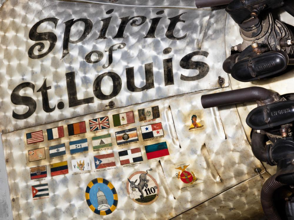 Cowling of the Spirit of St. Louis