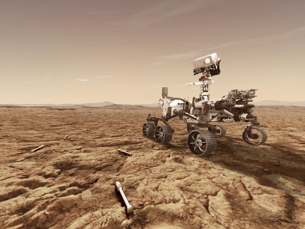 Mars 2020 Rover Rendering