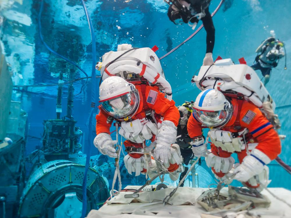 Image result for astronaut training