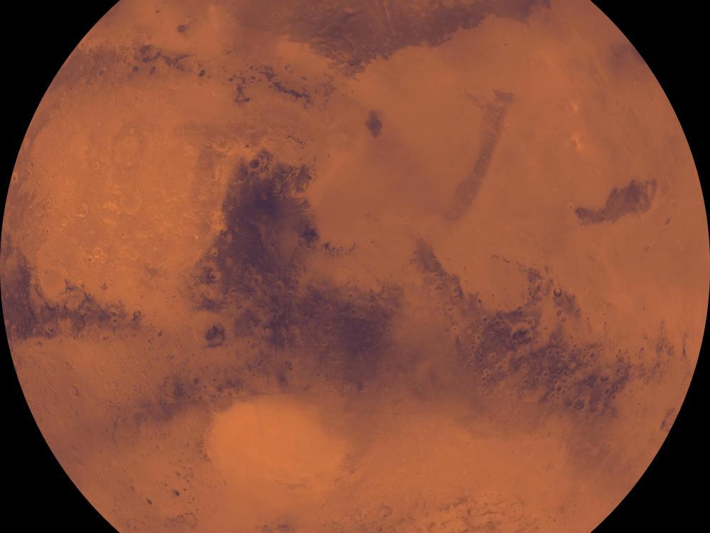 Viking Orbiter 1 Mosaic of Mars