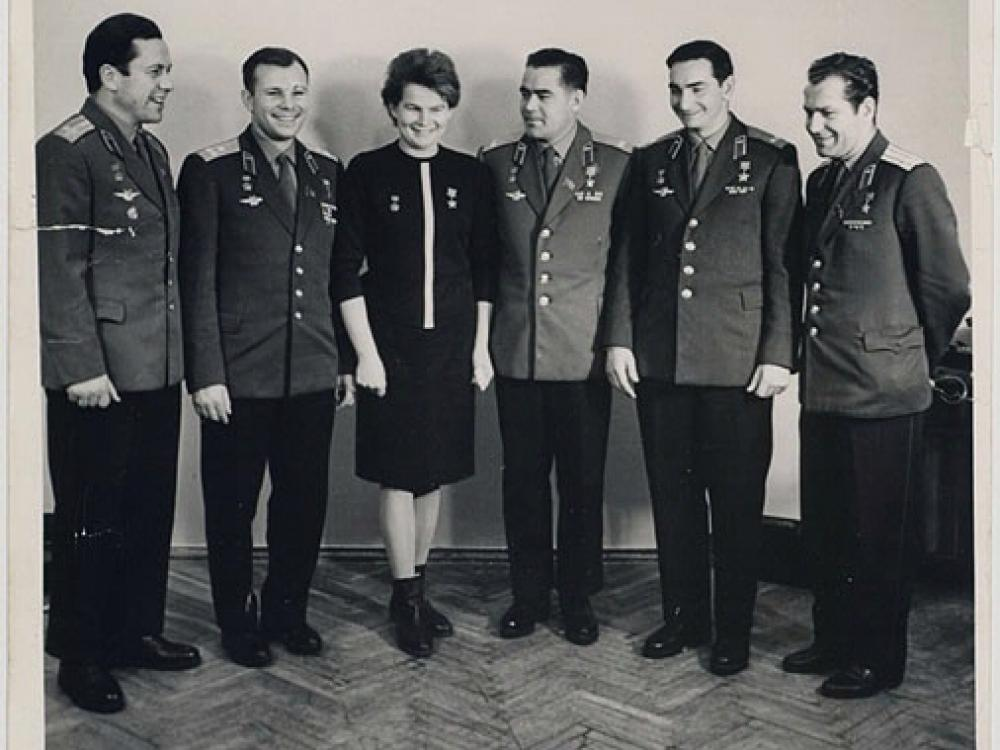 The first six cosmonauts